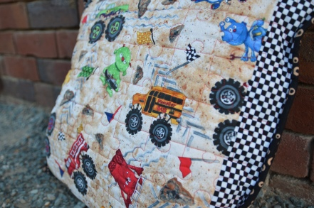 Quilts for Sale | Marcelle's Patchwork Cottage : monster truck quilt - Adamdwight.com